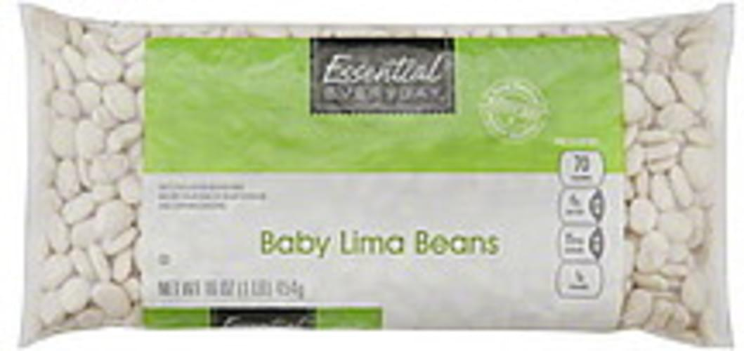 Essential Everyday Baby Lima Beans - 16 oz