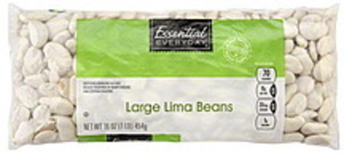 Essential Everyday Large Lima Beans - 16 oz