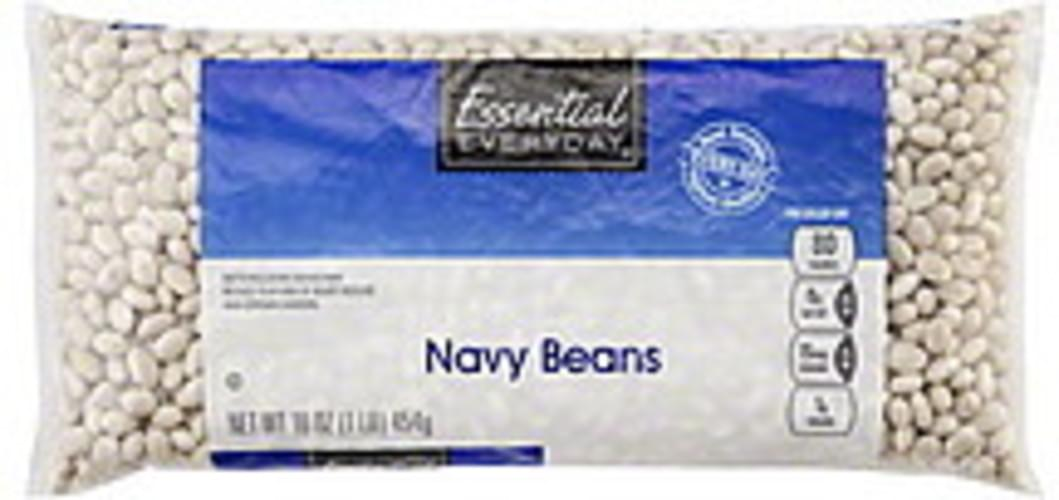 Essential Everyday Navy Beans - 16 oz