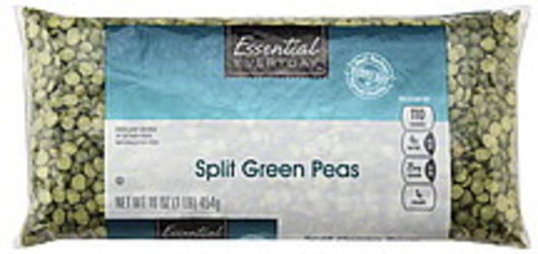 Essential Everyday Split, Green Peas - 16 oz