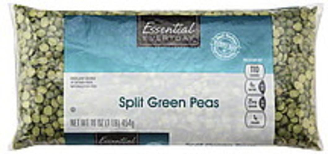 Essential Everyday Split, Green Peas - 16 oz