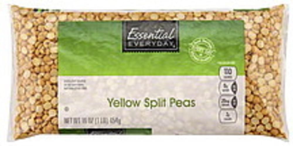 Essential Everyday Split, Yellow Peas - 16 oz