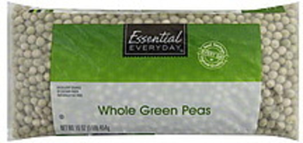 Essential Everyday Whole Green Peas - 16 oz