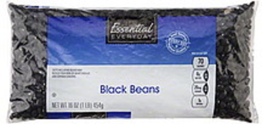 Essential Everyday Black Beans - 16 oz
