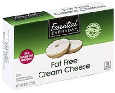 Essential Everyday Cream Cheese Fat Free