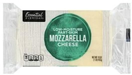 Essential Everyday Cheese Part Skim, Mozzarella, Low Moisture