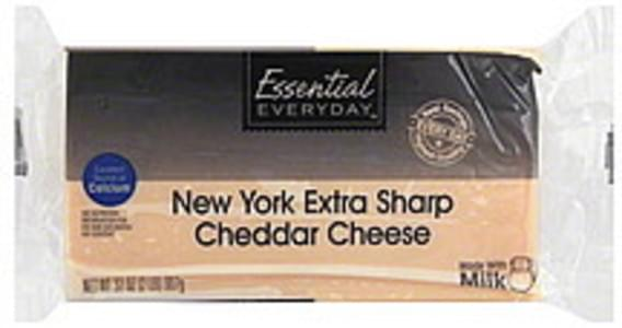 Essential Everyday Cheese Cheddar, New York Extra Sharp