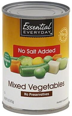 Essential Everyday Mixed Vegetables No Salt Added