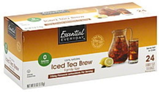 Essential Everyday Tea Bags Family Size, Iced Tea Brew