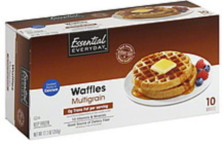 Essential Everyday Whole Wheat Waffles - 10 ea