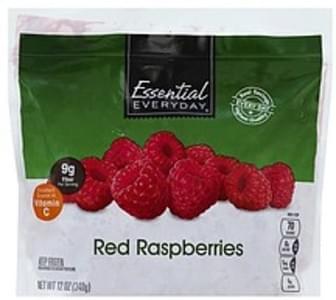 Essential Everyday Raspberries Red