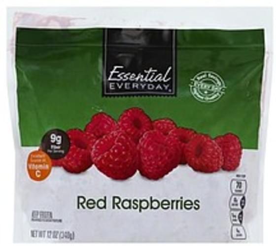 Essential Everyday Red Raspberries - 12 oz