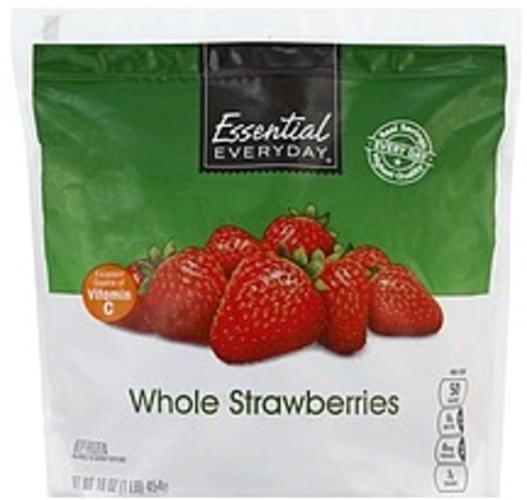 Essential Everyday Whole Strawberries - 16 oz