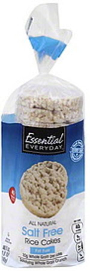 Essential Everyday Salt Free Rice Cakes - 4.9 oz
