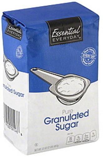 Essential Everyday Pure, Granulated Sugar - 32 oz
