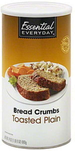 Essential Everyday Toasted Plain Bread Crumbs - 24 oz