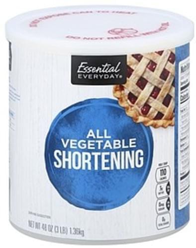 Essential Everyday All Vegetable Shortening - 48 oz