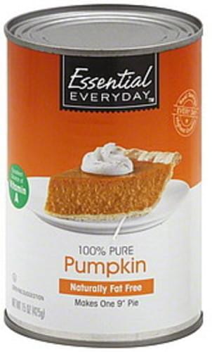 Essential Everyday 100% Pure Pumpkin - 15 oz