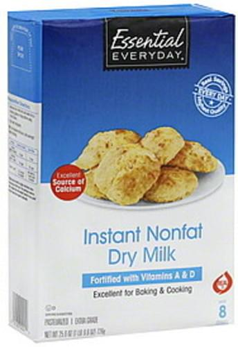 Essential Everyday Instant, Nonfat Dry Milk - 25 6 oz