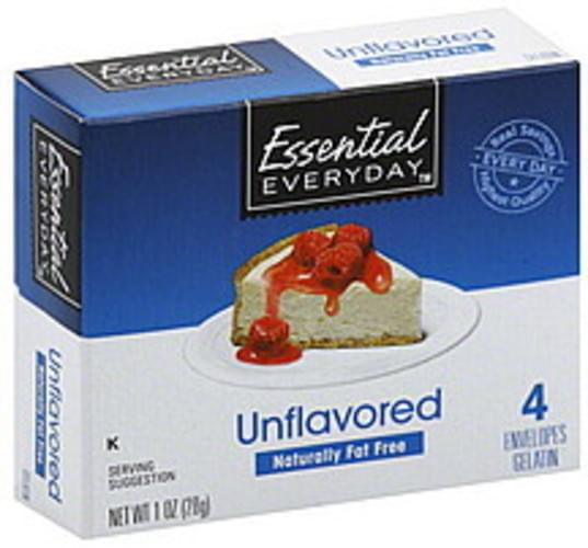 Essential Everyday Unflavored Gelatin - 4 ea