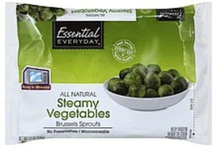 Essential Everyday Steamy Vegetables Brussels Sprouts