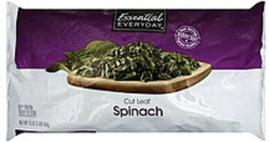 Essential Everyday Cut Leaf Spinach - 16 oz
