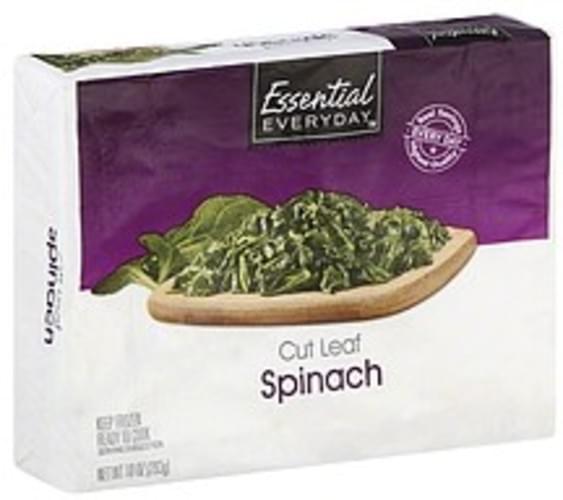 Essential Everyday Cut Leaf Spinach - 10 oz