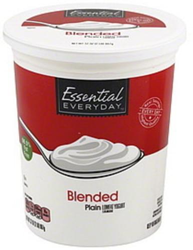 Essential Everyday Lowfat, Blended, Plain Yogurt - 32 oz