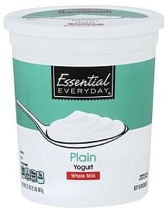 Essential Everyday Yogurt Whole Milk, Plain