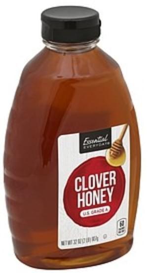 Essential Everyday Clover Honey - 32 oz, Nutrition