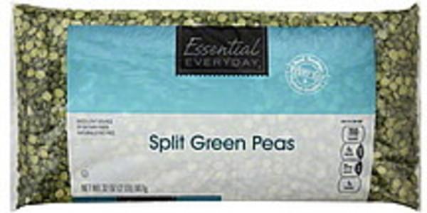 Essential Everyday Peas Green, Split