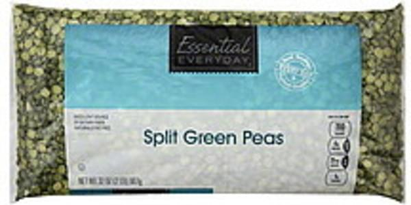 Essential Everyday Peas Green, Split