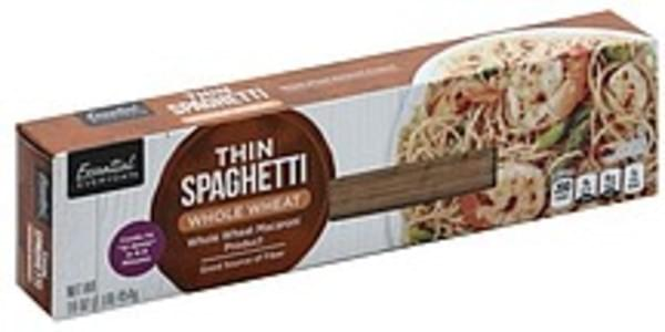 Essential Everyday Thin Spaghetti Whole Wheat