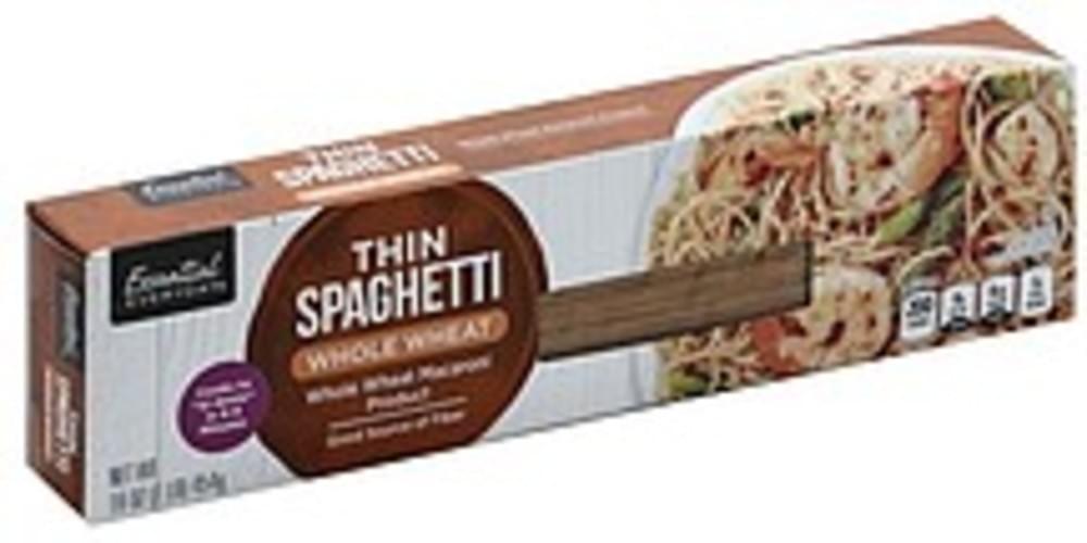 Essential Everyday Whole Wheat Thin Spaghetti - 16 oz