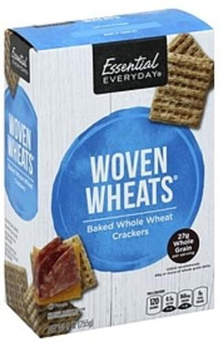 Essential Everyday Woven Wheats Crackers - 9 oz