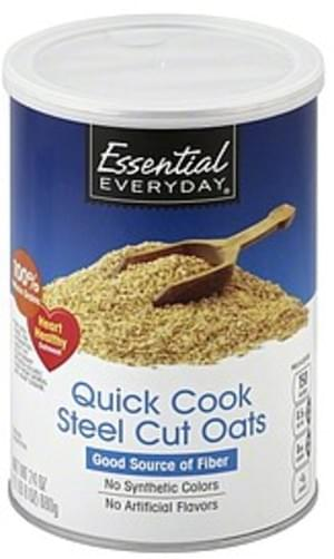 Essential Everyday Steel Cut, Quick Cook Oats - 24 oz