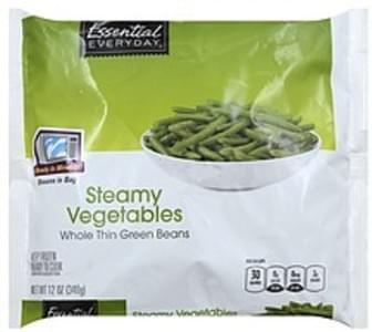 Essential Everyday Vegetables Steamy