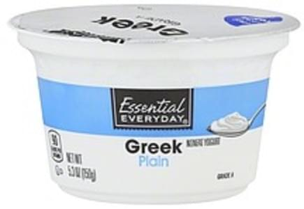 Essential Everyday Yogurt Greek, Nonfat, Plain