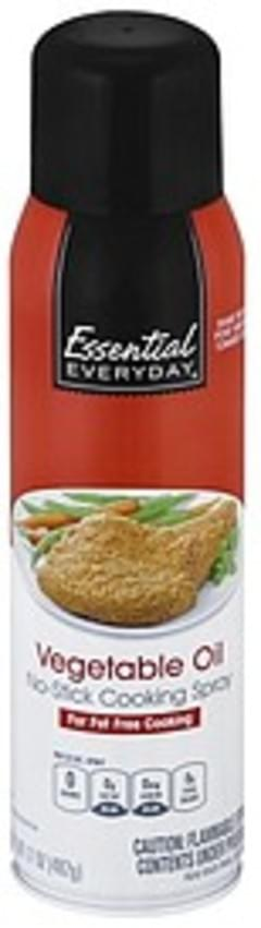 Essential Everyday Cooking Spray No-Stick, Vegetable Oil