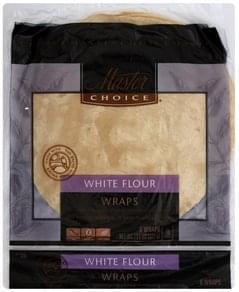 Master Choice Wraps White Flour