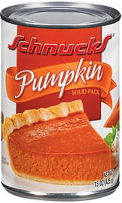 Schnucks Pumpkin Solid Pack