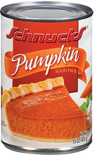 Schnucks Solid Pack Pumpkin - 15 oz