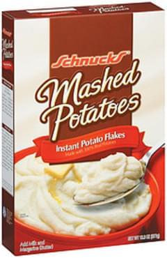 Schnucks Instant Potato Flakes Mashed Potatoes
