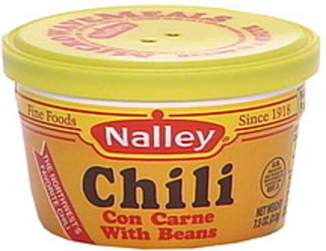 Nalley Chili Con Carne With Beans - 7.5 oz