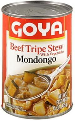 Goya Beef Tripe Stew with Vegetables