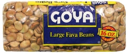 Goya Large Farva Beans - 16 oz