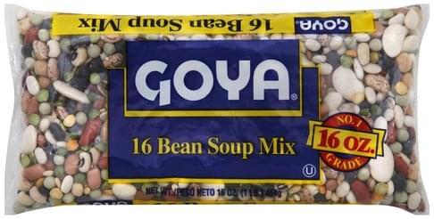 Goya 16 Bean Soup Mix - 16 oz