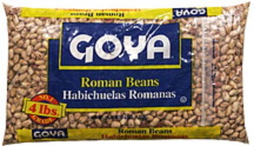 Goya Roman Beans - 64 oz