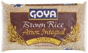 Goya Brown Rice Natural, Long Grain