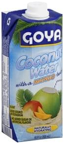Goya Coconut Water with a Mango Twist